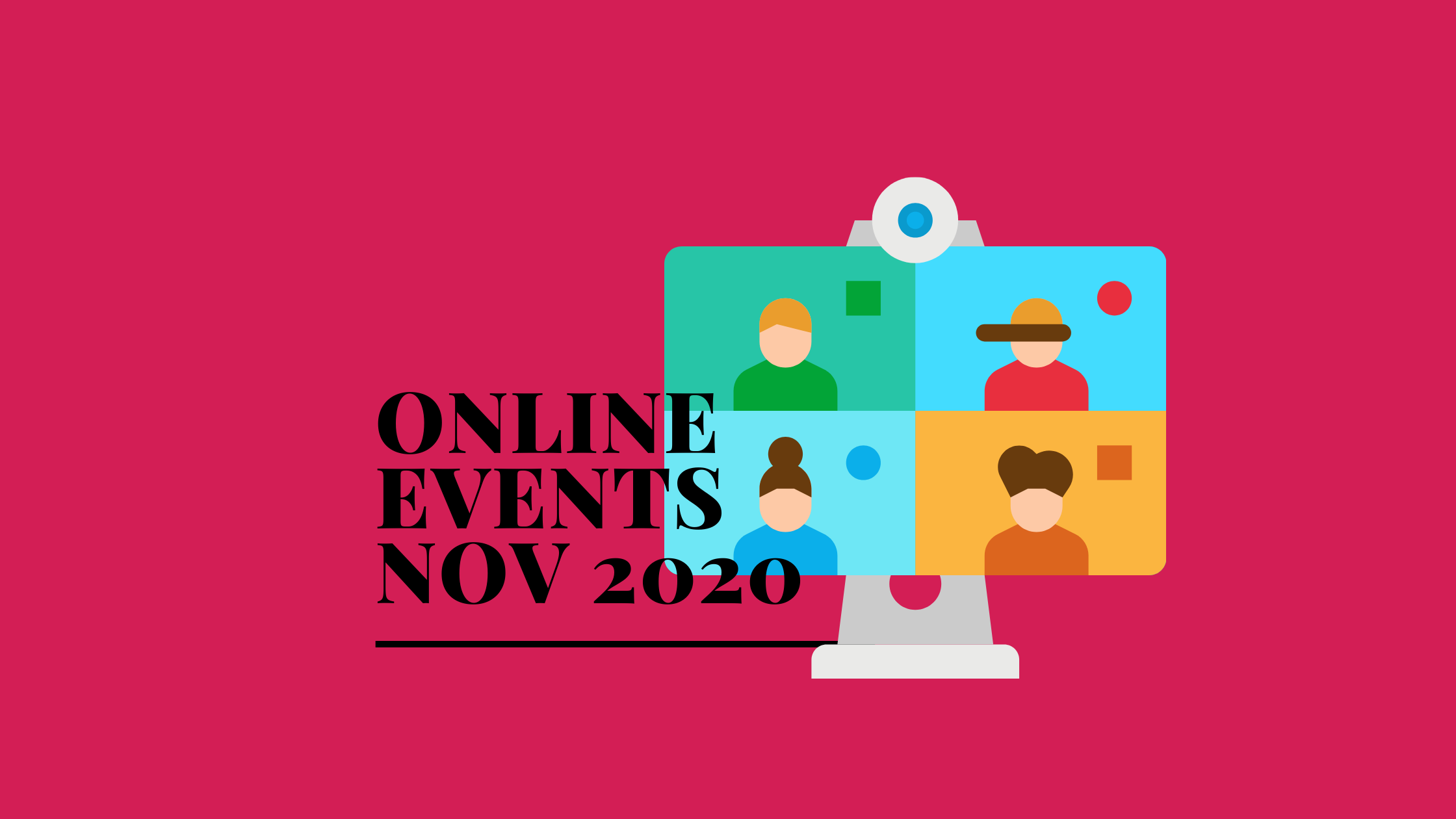 online sustainability events nov 2020